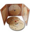 Pressage CD digipack 3 volets avec 2 CD
