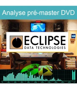 Traitement et vérification de conformité d'un pré-master DVD