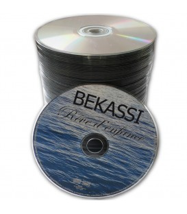 Disques CD ou DVD en spindle