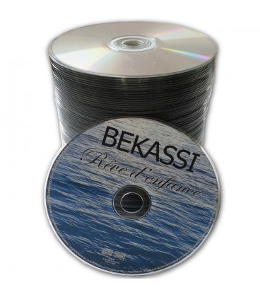 Pressage de CD et DVD sans packaging (en spindle)