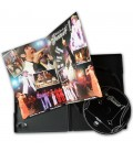 Boitier DVD standard DVD boitier noir livret ouvert