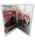 Boitier DVD standard pressage dvd boitier standard transparent ouvert
