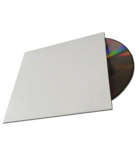 Pochette carton blanche type single